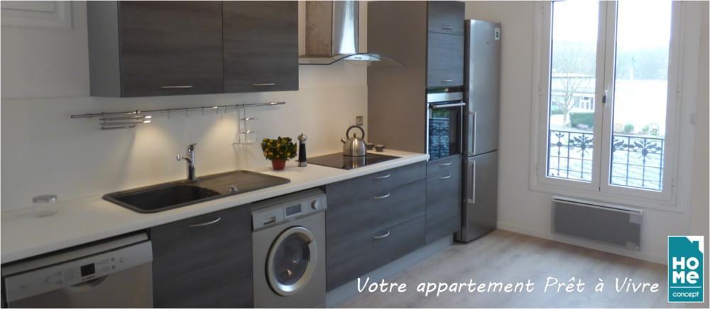 Immobilier neuf - appartements rénovés - Ile-de-France - HOME CONCEPT 3