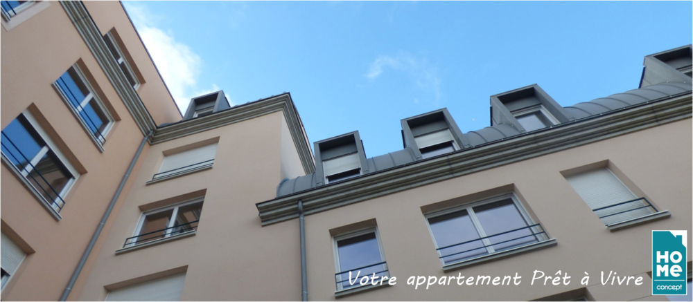 Immobilier neuf - appartements rénovés - Ile-de-France - HOME CONCEPT 1