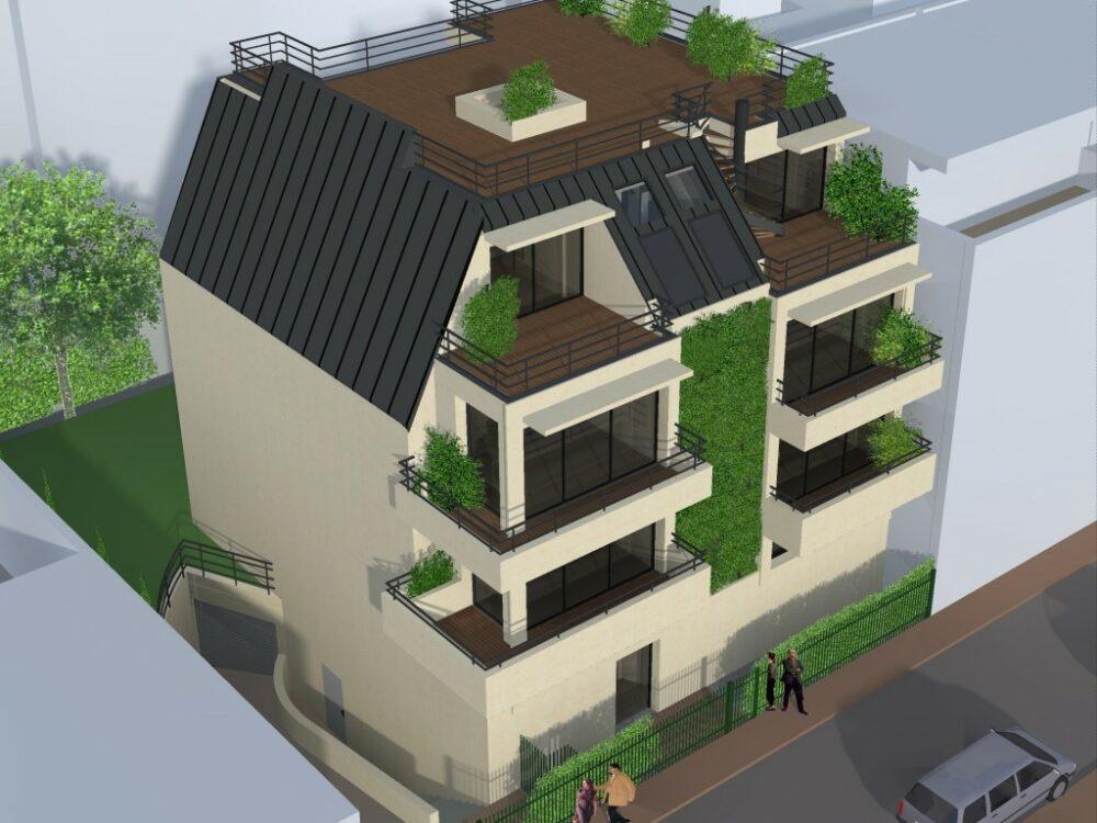 Immobilier neuf HOME CONCEPT - Issy les Moulineaux (92250) - Villa Belle Ile 6