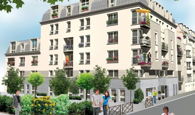 Immobilier neuf HOME CONCEPT - Villejuif (94800) - Résidence Liberté 1
