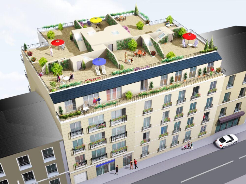 Immobilier neuf HOME CONCEPT - Alfortville (94140) - Résidence Entre Marne et Seine 1