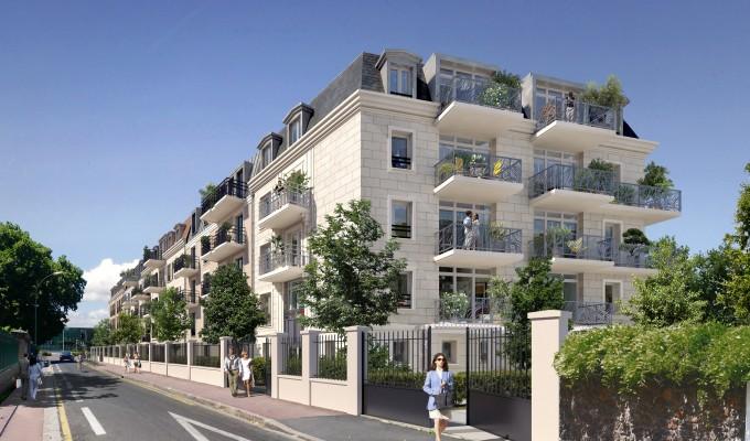 SAINT-MAUR-DES-FOSSES-94100-appartement neuf-HOME CONCEPT-image immeuble 1