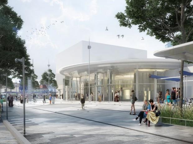 SAINT-MAUR-DES-FOSSES-94100-RER A-METRO LIGNE 15-GRAND PARIS EXPRESS-image future gare Saint-Maur-Créteil 3