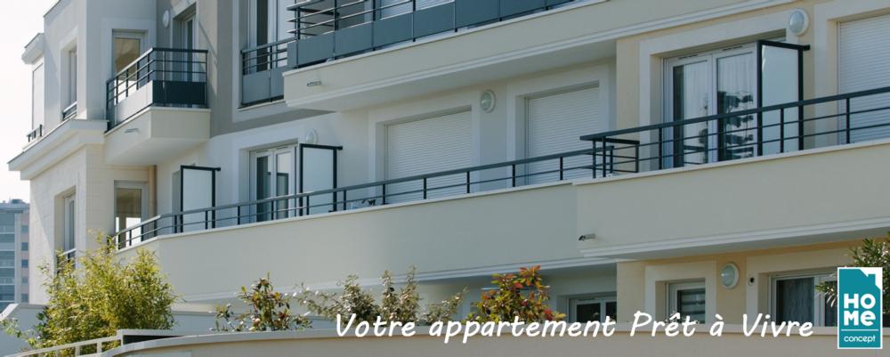 HOME CONCEPT - VOTRE APPARTEMENT PRET A VIVRE - LOGEMENT NEUF - APPARTEMENT NEUF 1